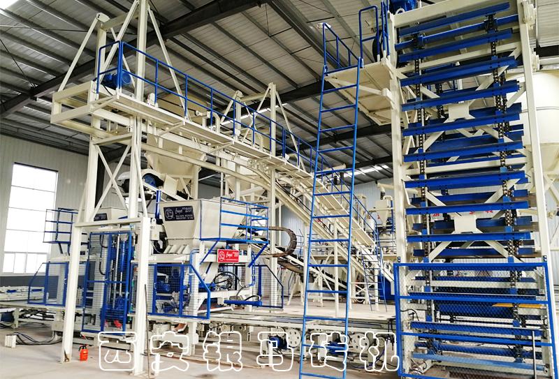 西安银马多款免烧砖制砖机器助力企业转型升级