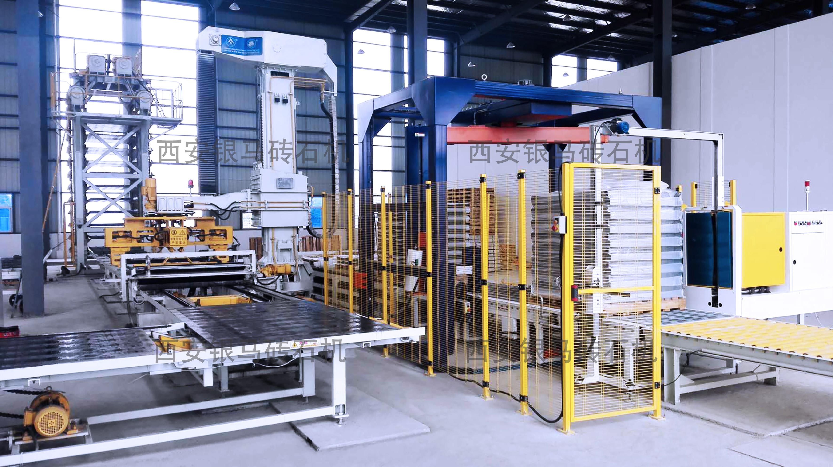免烧砖全自动砖机:大型利废企业规模化生产高品质制品的选择