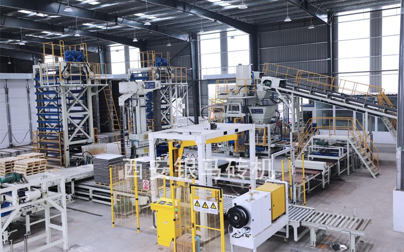 振动静压砖机设备:填补国际国内市场技术空白