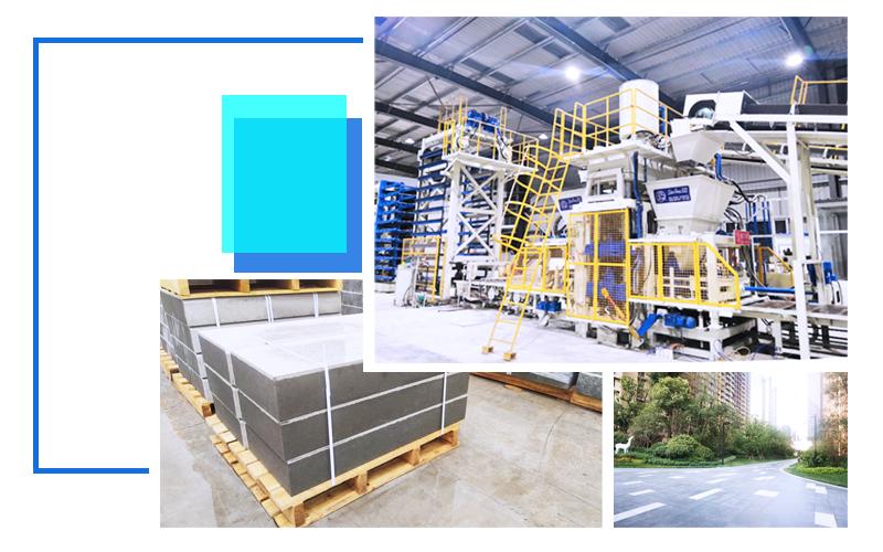 从四个方面为客户量身打造的振动静压砖机设备