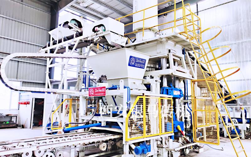 振动静压砖机设备:推动重点行业和重要领域绿色化改造