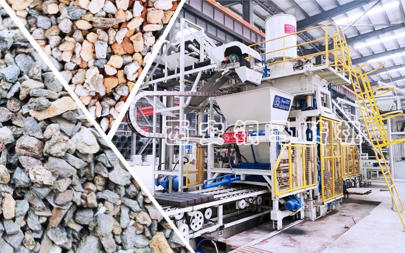 绿化环保制砖机:空心砖机从四个方面对环境污染问题进行标本兼治