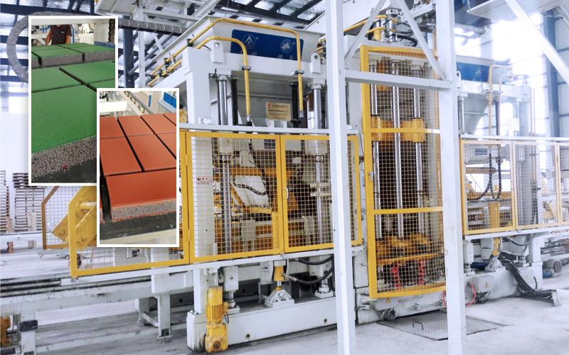 水利免烧砖机:满足水利工程施工对大型砌块的特殊需求