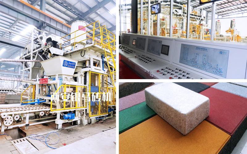 制砖生产线成套设备:砌块砖机实现产出全过程的数据化