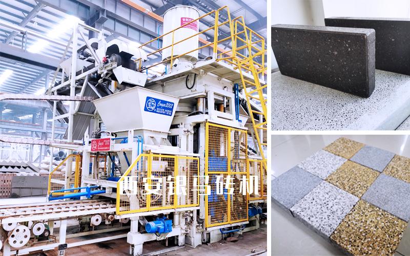 行业应用广泛,制品多样的全自动路沿石生产设备