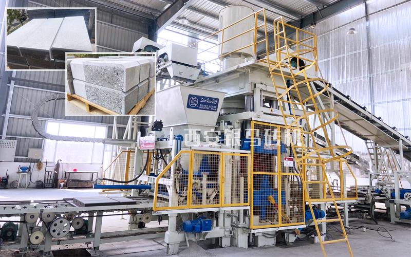 智能化矿渣制砖机械:砌块砖机实现多种产品的快速转换生产