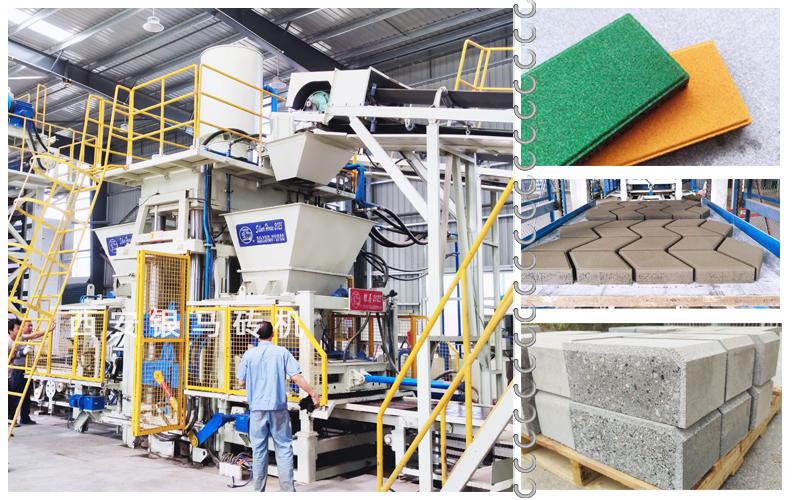 海绵透水砖生产线:高品质仿石透水砖领航海绵城市建设