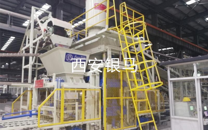 银马金尾矿制砖生产线各项技术指标