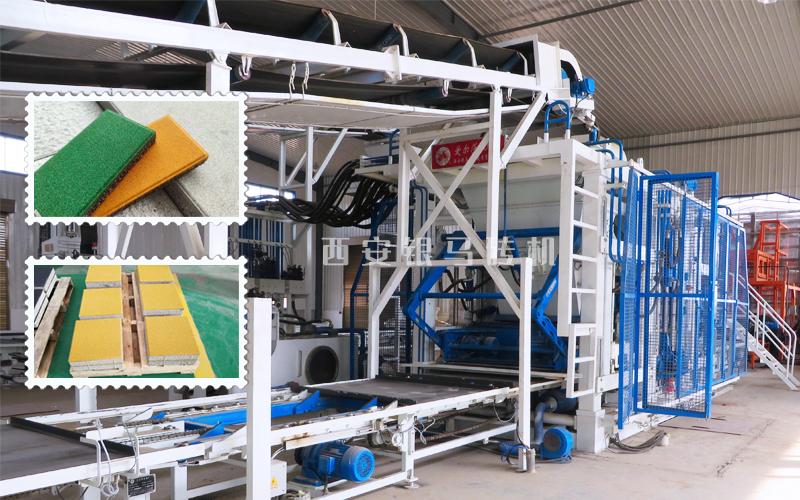透水砖机器设备:打造城水相融,蓝绿交织的海绵城市典范