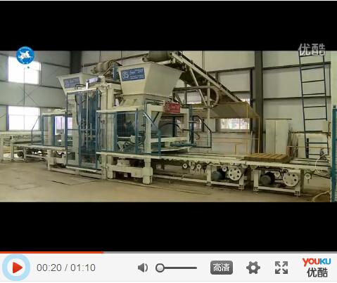 荷兰砖制砖机生产荷兰砖实拍视频