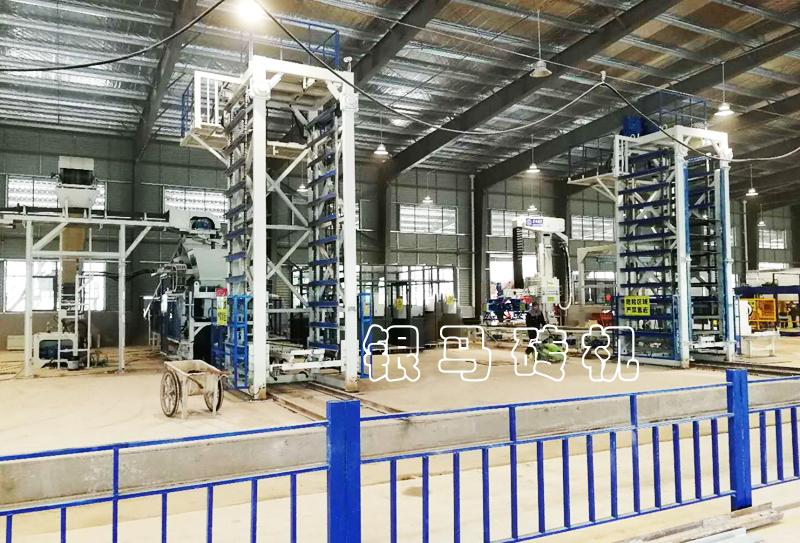 银马PC砖生产机械核心竞争力升级,深化国际市场!