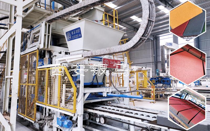 透水砖机器设备:将制品高强度、高透水率、细腻仿石融于一身