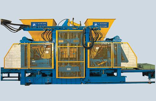 全自动金沙9001mm平台|透水步道红砖机